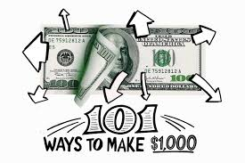 101 Ways to Make $1,000 in 2018