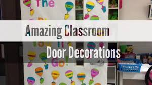 31+ Awesome Classroom Door Decorations Ideas - YouTube