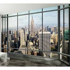 New York City Wallpaper For Bedroom Large Wallpaper Feature Wall Murals Landscapes Landmarks