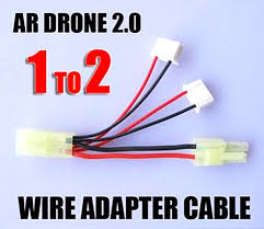 compare prices on helicopter drone kit online shopping buy low shipping parrot ar drone 2 0 power adapter harness cable 1 to 2 for led light