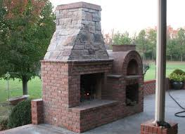 diy outdoor fireplace and pizza oven plans modern patio