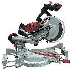 craftsman power tools. craftsman professional 12\u0027\u0027 dual bevel sliding compound miter saw (21221) $448.88 power tools