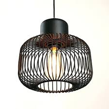 cage light shade unverbluehtinfo bronze wire industrial cage pendant light shade lightning game time