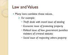 street law chapter what is law ppt video online law and values many laws combine these values for example