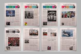 Microsoft Newspaper Template Free 9 Newspaper Front Page Template Free Word Ppt Eps