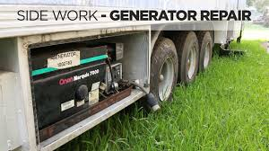 onan generator troubleshooting and repair youtube  at Owen 700 Watt Generator For Motorhome Wiring Schematic