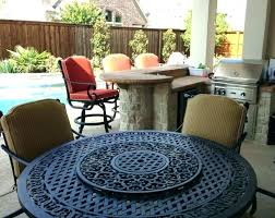 outdoor dining table with fire pit outdoor dining table with fire pit large round outdoor dining