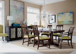 Living Room With Dining Table Sanders Dining Table Ethan Allen