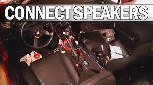 mx5 na miata how to connect headrest speakers to a head unit youtube Miata Speaker Enclosures at Miata Headrest Speaker Wiring Diagram