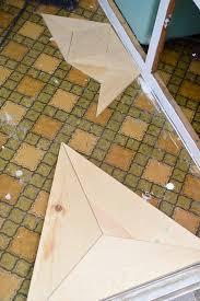diy geometric wood floor vintagerevivals com