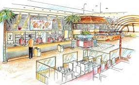 interior design kitchen drawings. Brilliant Interior Kitchen Interior Design In Restaurant Lounge Bar And Show  Another Inside Interior Design Kitchen Drawings N