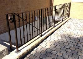 wrought iron railing. Good Exterior Wrought Iron Railing