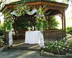 Decorating For A Wedding Decorating A Gazebo For The Wedding Event Weddings Pinterest
