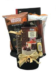 night on the town gift basket