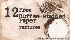 Each paper is hand dyed with coffee they all have that. Coffee Stained Paper Textures To Download