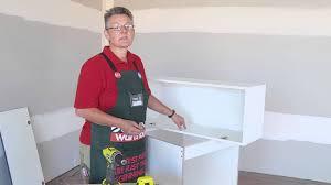 Bunnings Kitchen Cabinet Doors How To Install Door Hinges Gas Struts Diy At Bunnings Youtube