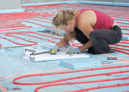 Heated Bathroom Floor Extraordinary Floors You Can Install Over Radiant Heating Systems