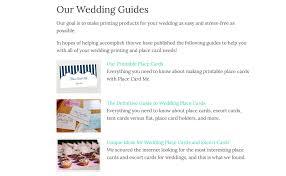 wedding guides
