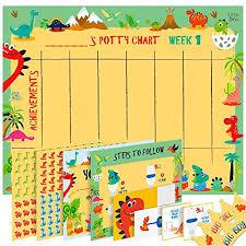 Potty Training Chart For Girls Potty Training Chart For Toddlers Dinosaur Design