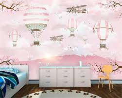 Bestellen Beibehang Custom 3d Behang Moderne Cartoon Luchtballon