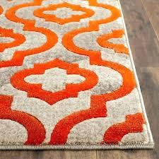 popular modern orange rug blue and area fabulous white burnt light uk county grey ogee