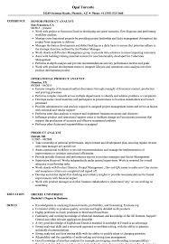 Product Analyst Resume Sample Product Analyst Resume Samples Velvet Jobs 2