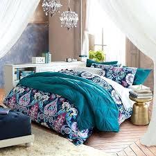 patterned bedding jewel damask flannel duvet cover sham patterned bedding
