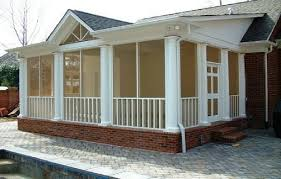 screened porch plans designs