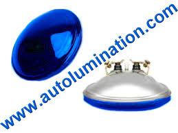 headlights fog lights drl halogen xenon replacement head light 4416b 4416 4416 b blue 12 8v 30w par36 12 8 volt 30 watt