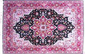 purple persian rug blue and red oriental rugs