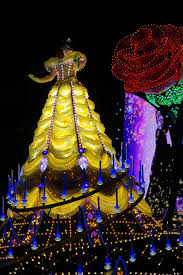 belle of the beauty and the beast paint the night parade