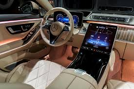 The sculptured look of the dashboard, centre console and armrests appears to float above an expansive interior landscape. 2021 Mercedes Maybach S Review Trims Specs Price New Interior Features Exterior Design And Specifications Carbuzz