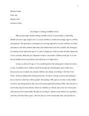 soc introduction to sociology grand canyon page  5 pages gcu cause effect essay docx