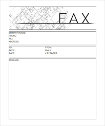 sample cover sheet for fax cover sheet template printable construction fax cover sheet