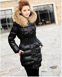 2018 Women's Quilted Down Fur Collar Hooded Jacket Expedition ... & 2018 Women's Quilted Down Fur Collar Hooded Jacket Expedition Parka Color  Red,Black,Khaki,G From Edress, $58.72 | Dhgate.Com Adamdwight.com