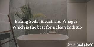 baking soda bleach and vinegar which