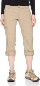 Prana Womens Short Inseam Hallena Pants 14 Dark Khaki