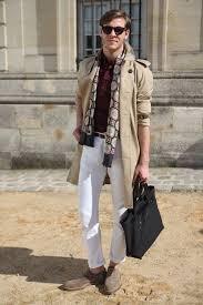 street style men trench coat thefashiontag wordpress