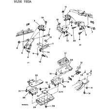 87 01 jeep wrangler yj tj xj mj 4 0 engine mount bracket support right 87 01 jeep wrangler yj tj xj mj 4 0 engine mount bracket support right side