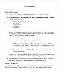 Procedure Note Template 7 Procedure Note Templates Free Sample Example Format
