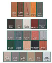 Rymar Stain Color Chart Log Stains Western Log Home Exterior Wood Stain Log