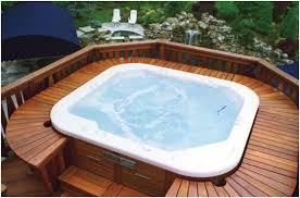 image of a premium quality hot tub verdure wellness