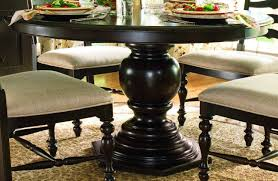 round black dining room table. Fascinating Dining Room Decoration With Round Pedestal Tables : Astonishing Set Furniture For Black Table A