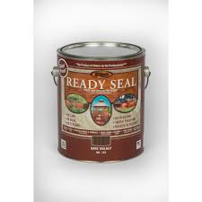 Ready Seal 1 Gal Dark Walnut Exterior Wood Stain And Sealer