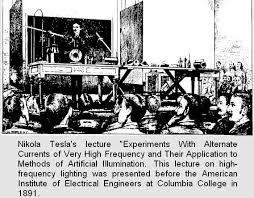 nikola tesla alternating current. there was talk of a theoretical \ nikola tesla alternating current
