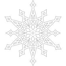 The snowflake template comes as two pdf's and there are four different snowflake designs for you, one larger easy design that has a page to itself and. Free Printable Snowflake Coloring Pages For Kids