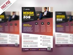 Training Flyer Training Flyer Design Conference Announcement Flyer Psd Template