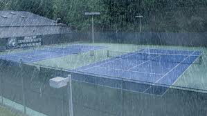 Image result for tennis courts closed due to rain