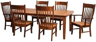 amish dining room table for