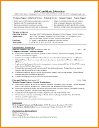 System Support Engineer Resume Image Collections - Free Resume
